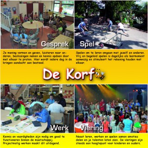 Diverse voor Jenaplan School De Korf